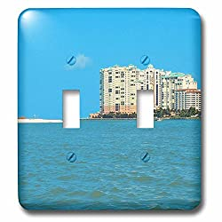 3dRose lsp_52448_2 Marco Island Resort Florida Everglades Double Toggle Switch