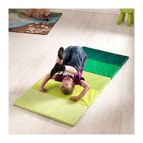 Ikea Plufsig Folding Gym Mat Green 78x185 Cm By Ikea Amazon Fr