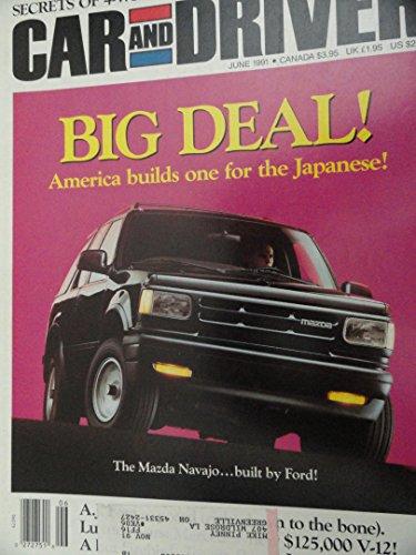 1991 1992 Mazda Navajo LX / Lexus SC400 SC 400 / Mercedes Benz S Class / Toyota Paseo Pontiac Trans Sport / Oldsmobile Cutlass Supreme Magazine Article