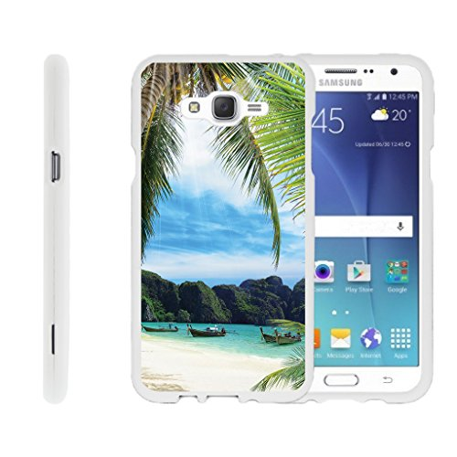 TurtleArmor | Samsung Galaxy J7 Case | J700 [Slim Duo] Fitted Ultra Compact Slim Hard Cover Snap On