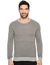 Men's Herringbone Crew Neck Sweater