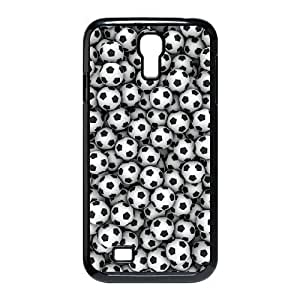 wugdiy Custom Hard Plastic Back Case Cover for SamSung Galaxy S4 I9500 with Unique Design Soccer