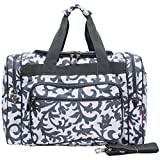 N Gil Damask Duffle Bag For Sale