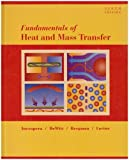Fundamentals of Heat and Mass Transfer, Incropera, Frank P. and DeWitt, David P., 0470055545