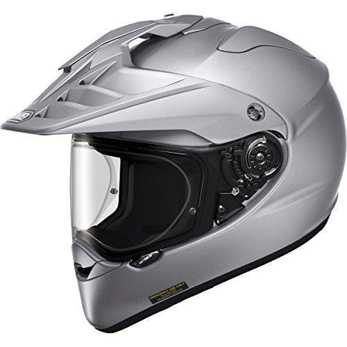 Silver Performance Street Helmet - Shoei Hornet X2 Street Bike Racing Helmet,X-Large,Silver