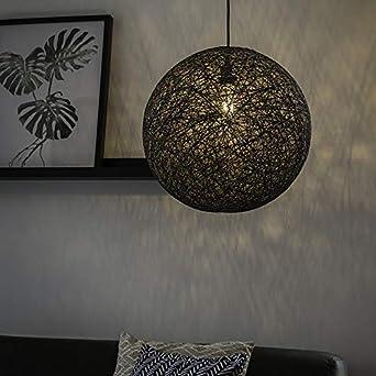 Hängelampe Design Kupfer antik Trio Kugel Pendelleuchte JACOB 40cm mit E27 LED