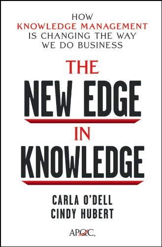 The New Edge in Knowledge By ODell Carla S Hubert Cindy
