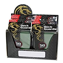 600 Premium Green Double Matte Deck Guard Sleeve Protectors for Gaming Cards like Magic The Gathering MTG, Pokemon, YU-GI-OH!, & More. by BCW