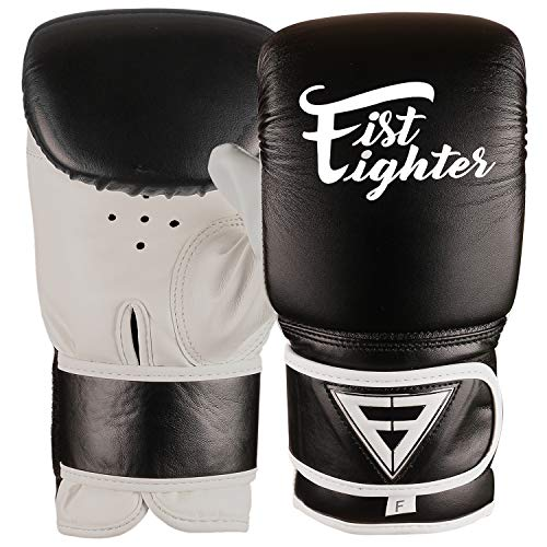 XGRIPE Punching Gloves for Heavy Punch Bag – PU Flex Leather Muay Thai, Kickboxing, MMA, Martial Arts Workout Mitts…