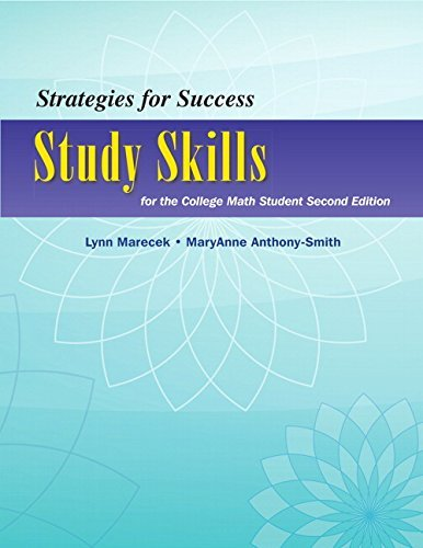 By Lynn Marecek Strategies For Success: Study Skills for the College Math Student (2nd Second Edition) (2nd Second Edition) [Paperback]