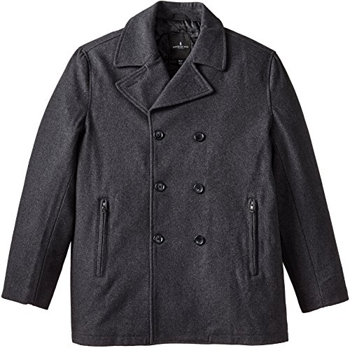 Quilted Wool Peacoat - 4
