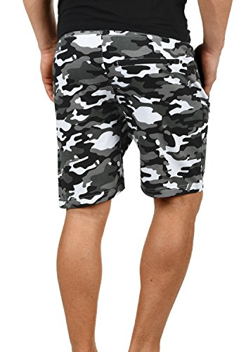 Dark Grey Court Camouflage solid Pour Homme En c2890 Jogging Pantalon Taras Short Sweat Bermuda wgwPqZv
