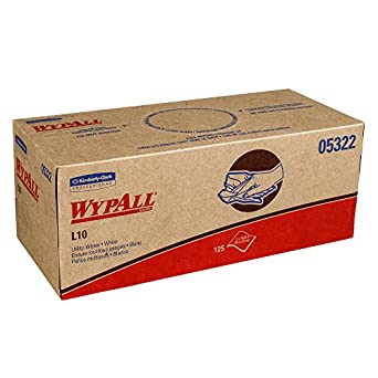 WypAll 05322 desechables limpiaparabrisas, uso, 1 capa, Pop-up caja, grande