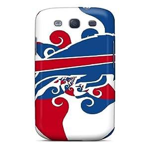 Jiangxiaodian Premium Protective Hard Case For Galaxy S3- Nice Design - Buffalo Bills