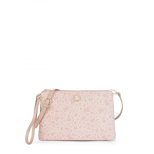57231733e Tous Bandolera grande Kaos Mini en color rosa: Amazon.es: Zapatos y  complementos