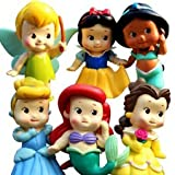 "Best Disney Toddler Dvds - Set of 6 Chunky Baby Toddler Princess 2"" Review"