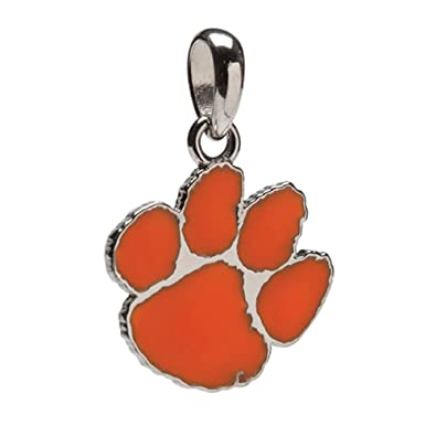 Clemson university charm stainless steel clemson jewelry orange tiger paw pendant officially licensed by clemson university clemson gifts clemson university charm stainless steel clemson jewelry orange tiger paw pendant officially licensed aloadofball Images