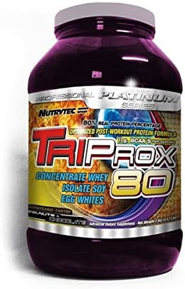 Proteínas Triprox 80 Nutrytec Platinum 1 kg sabor chocolate ...