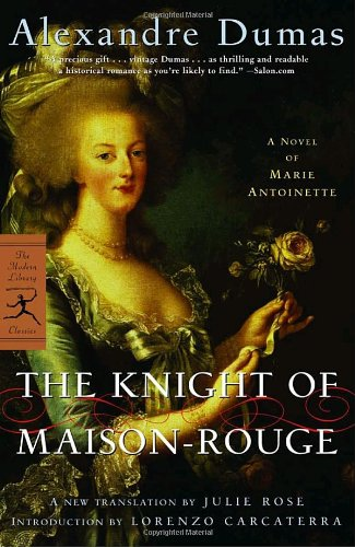 Book cover for The Knight of Maison-Rouge