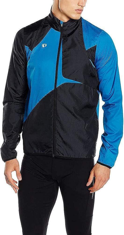 Large Pearl Izumi Mens Fly Convert Jacket Mykonos Blue//Black
