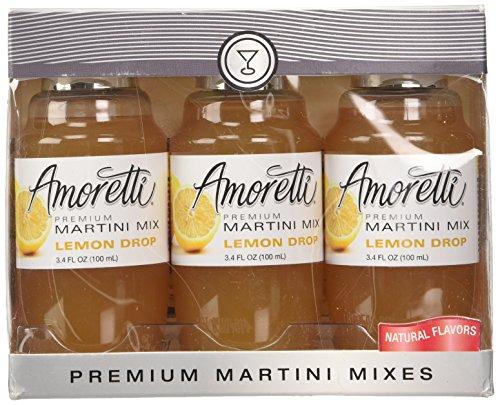 Amoretti Premium Martini Cocktail Mix Minis, Lemon Drop, 3.4 fluid - Lemon Tart Mini