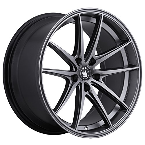 Konig OVERSTEER Opal Wheel with Painted Finish (17 x 8. inches /5 x 100 mm, 45 mm Offset) ()