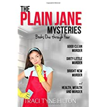 The Plain Jane Mysteries: Books One Through Four: A Cozy Christian Collection