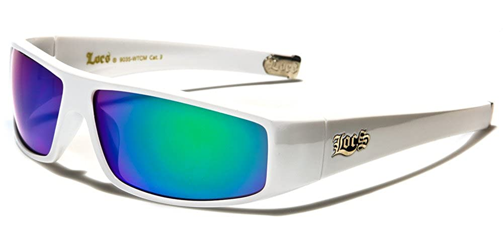 Locs メンズ B075J225XY  White (Multi-teal)