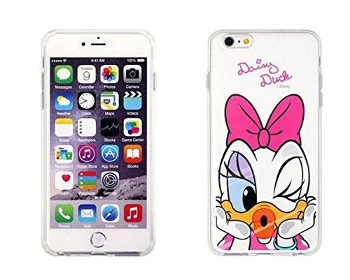Disney Winnie Mickey Daisy & Donald Duck Clear TPU Soft Case For Apple iPhone7 Plus DAISY DUCK .1
