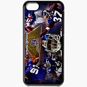 Personalized Case For Iphone 5/5S Cover Cell phone Skin 1410 new york giants Black