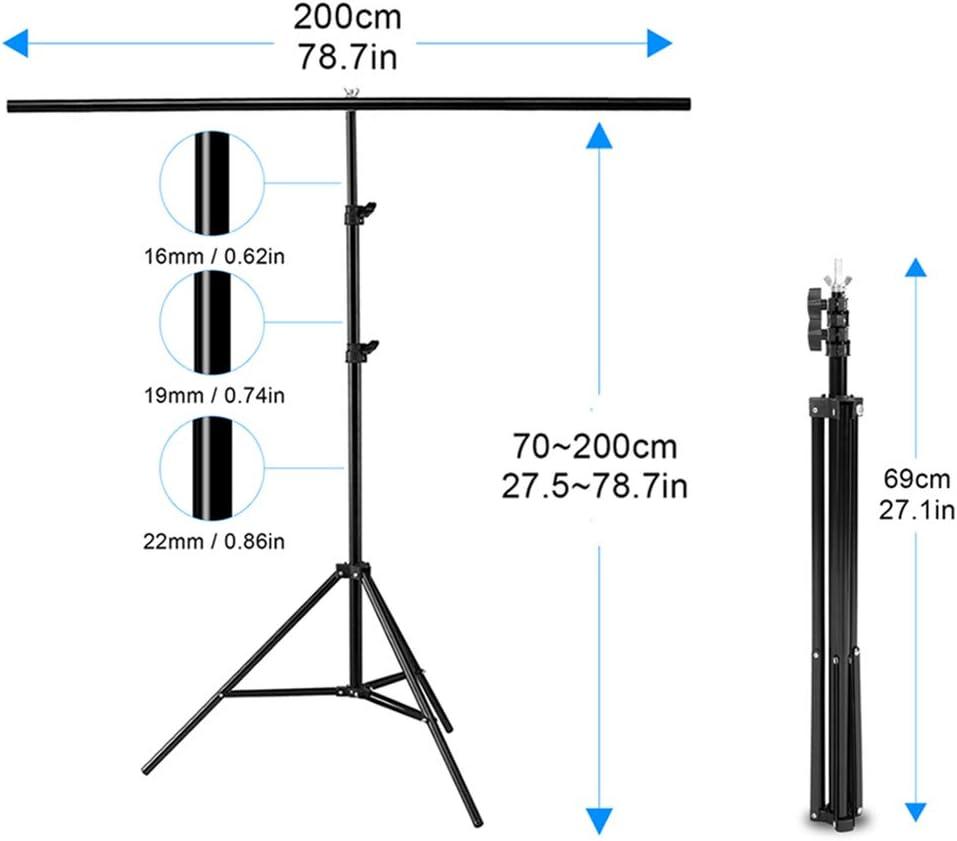 Selens T Form Hintergrund Ständer 2 M X 2 M Kamera