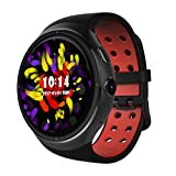Dreamyth Z10 Android 5.1 Smart Watch 1GB +16GB MTK6580 Quad Core 1.39 Smartwatch With WIFI GPS SIM For Android iOS Durable (Black)
