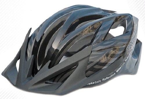 Prowell Helmets F5000R Fahrradhelm schwarz schwarz Gr. L (59-65 cm)