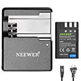 Neewer Battery Charger Replacement for Nikon MH-23 and Nikon EN-EL9/EN-LE9A Replacement Li-ion Battery, Compatible with Nikon D700 D300 D100 D3000 D5000 D5100 D80 D60 D70s D70 D50 D40X D40 Cameras