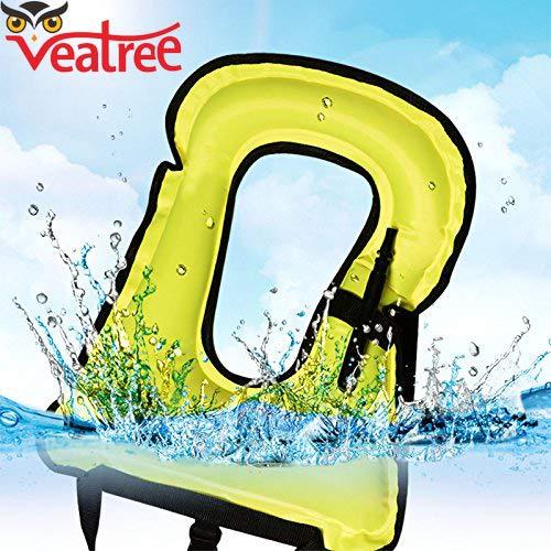 Amazon.com: Veatree - Chaleco hinchable para la vida ...