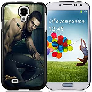 Beautiful Custom Designed Samsung Galaxy S4 I9500 i337 M919 i545 r970 l720 Phone Case For Oliver Queen Green Arrow Phone Case Cover