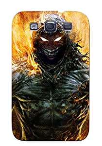 Burning In Hell Case Compatible With Galaxy S3/ Hot Protection Case(best Gift Choice For Lovers)