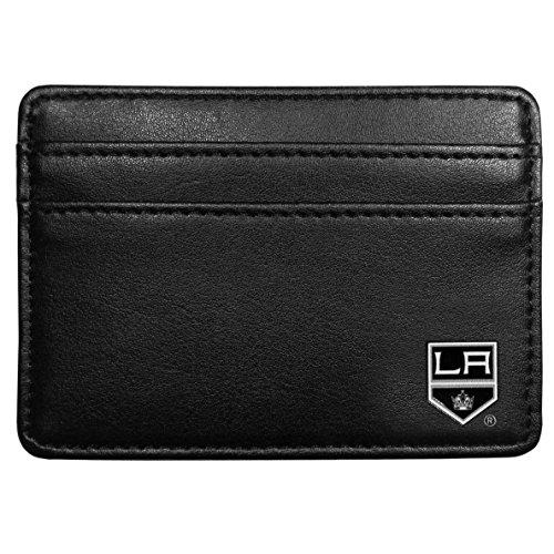 La Kings Memorabilia (NHL Los Angeles Kings Leather Weekend Wallet, Black)
