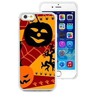 New Custom Designed Cover Case For iPhone 6 4.7 Inch TPU With Halloween Holiday Mobile Wallpaper (2) Phone Case
