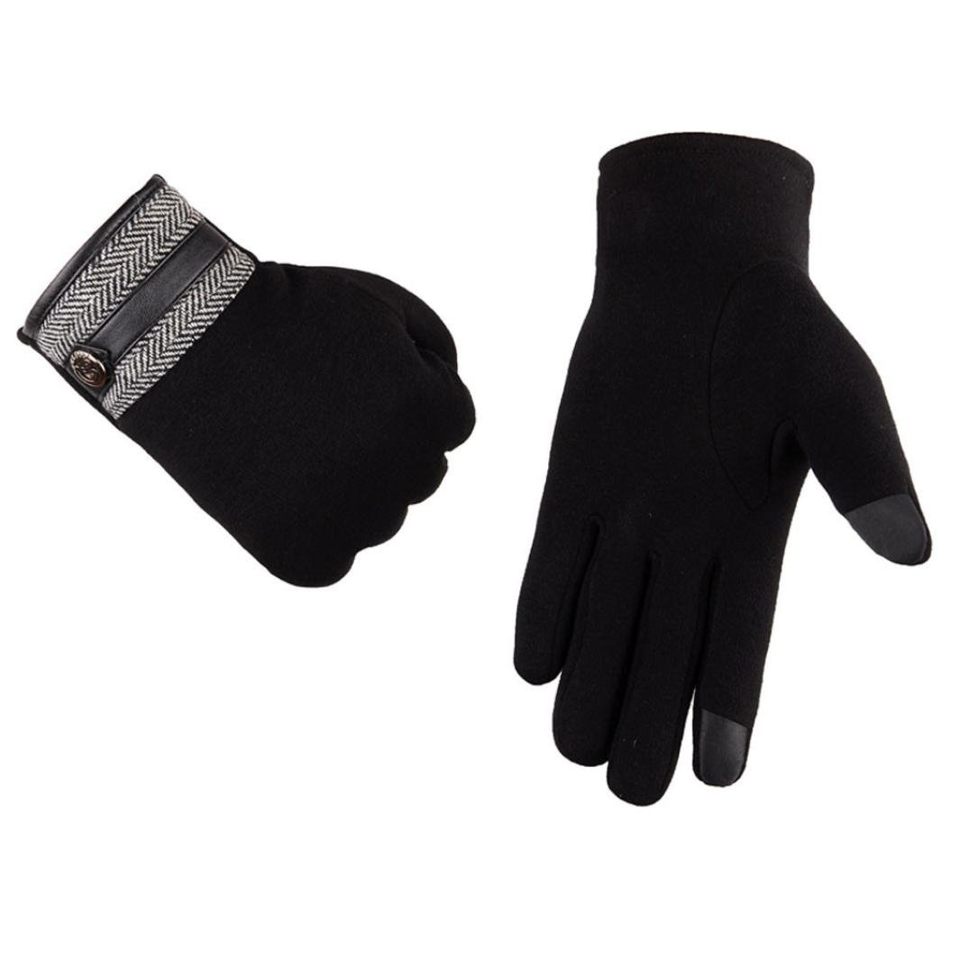 Hot Sale !!! Men's Winter Gloves,Jushye Boys Thermal Winter Motorcycle Ski Snow Snowboard Gloves (A)