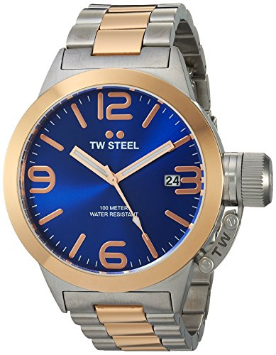TW Steel Men's CB141 Analog Display Quartz Two Tone Watch
