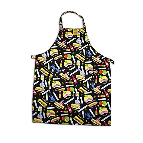 Youngberg & Co New Orleans Po-Boy Full Print Apron