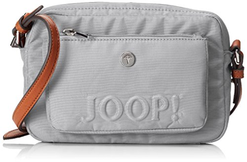 Joop! Nylon Naviga Manu Shoulderbag Shz - Bolso de hombro Mujer Gris (Light Grey)