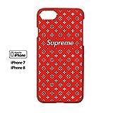 High Fashion x Street Fashion - iPhone 7/ 8 - Protective Hard Plastic Case / Cover / Skin / Bumper (Ruby)