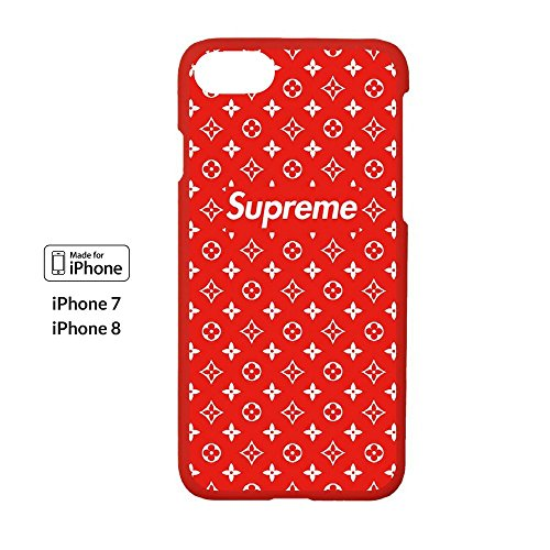 Price comparison product image High Fashion x Street Fashion - iPhone 7/ 8 - Protective Hard Plastic Case / Cover / Skin / Bumper (Ruby)