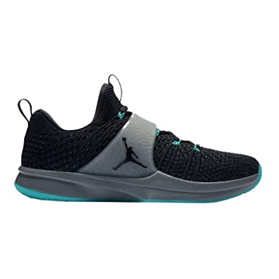 best loved dac43 46bff Amazon.com | NIKE Jordan Men's Trainer 2 Flyknit Black/Cool ...