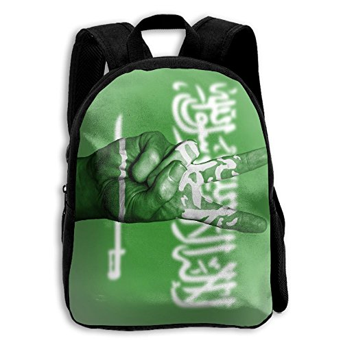SARA NELL Kids School Backpack Saudi Arabia Flag Victory Tra