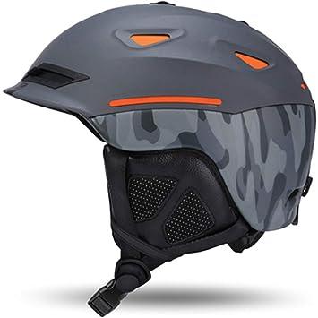 Marca Al por Mayor Hombre Mujer Casco de Esquí Gafas de Esquí Snowboard Casco Rápido Moto