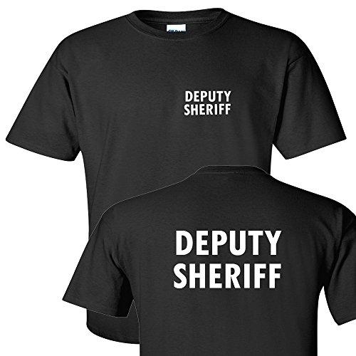 Tee Plaza - Official Guard Event Uniform White logo t-shirt DEPUTY -XL