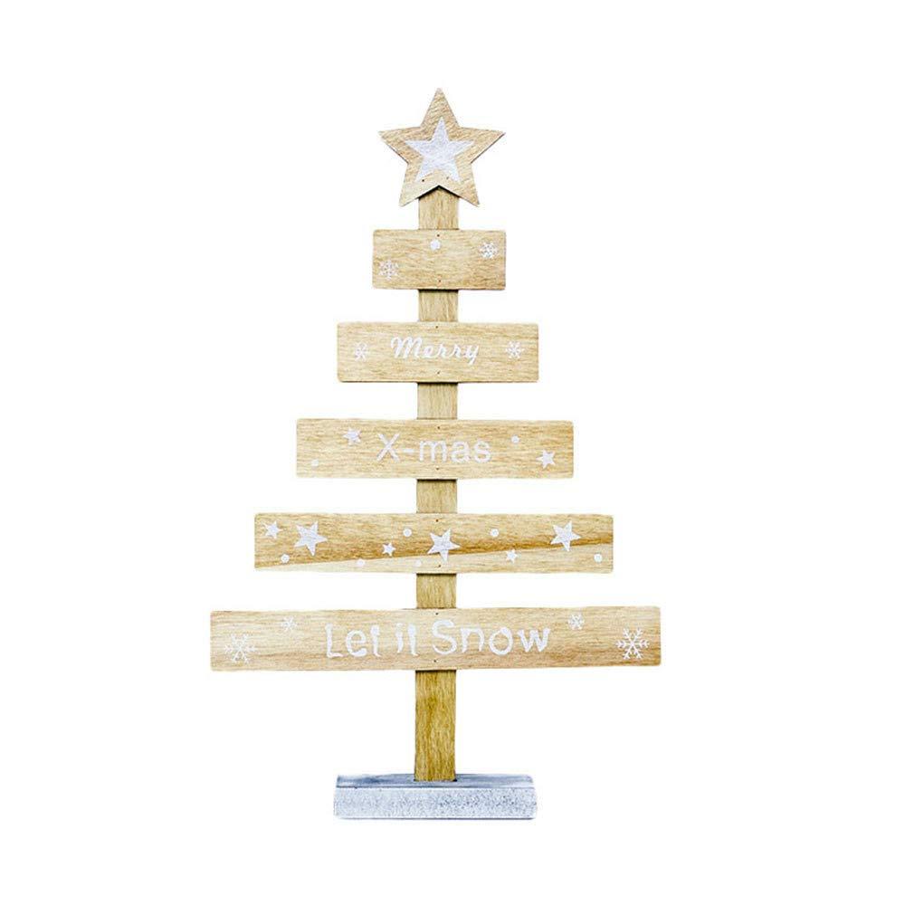 【高価値】 Chezaa 卓上 Merry イエロー クリスマスツリー 木製オーナメント ギフト フェスティバルデコレーション ミニクリスマスツリー カーニバル 卓上 デコレーション パーティー ホームホリデー クリスマス カーニバル B07JKNZ5NV イエロー, ヤハタヒガシク:77c68450 --- beyonddefeat.com